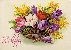 старинные открытки на 8 марта: 11 тыс изображений найдено в Яндекс.Картинках