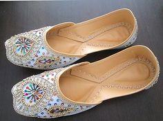Women's Shoes Indian Designer Shoes Indian Traditional Shoes Punjabi Jutti | eBay