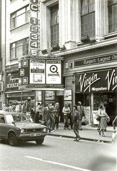 Quadrophenia film, Oxford Street London, 1979 by PaulWrightUK, via Flickr