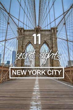 11 New York secret sights! NYC hidden gems to explore!