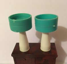 A personal favorite from my Etsy shop https://www.etsy.com/listing/483528273/dollhouse-miniature-retro-table-lamps
