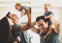 fun family photos / candid lifestyle at home session