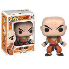 This is a Dragon Ball Z Krillin POP Vinyl Figure that's produced by the nice folks over at Funko. Krillin looks great in his DBZ Funko POP Vinyl style! Perfect