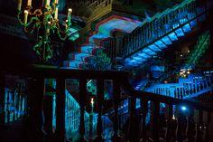 Escher Staircase....Walt Disney World   Magic Kingdom   Haunted Mansion