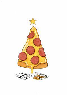 Arbre de Noël / Pizza Tree Permalien de l'image intégrée