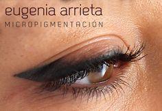 Classic Eyeliner, Semi Permanent Makeup, Makeup Course, Makeup Tattoos, Eyebrows, Make Up, Maje, Beauty, Fashion