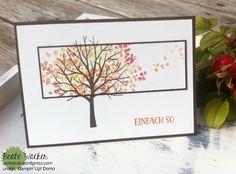 Baum der Freundschaft, Herbst, Grußelemente