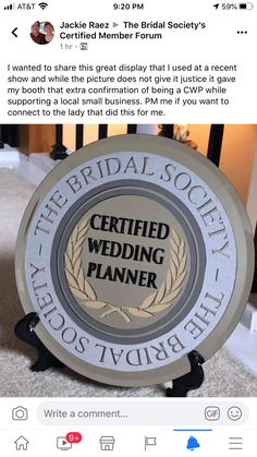 Smooth Tie The Knots is a Bridal Society Certified Wedding Planner.