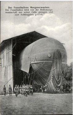 El famoso zeppelin alemán: