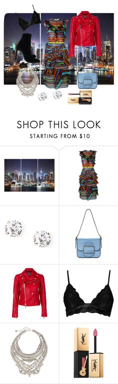 """Girls Night Out"" by yavetmaldonado4 ❤ liked on Polyvore featuring Marc Jacobs, Givenchy, Tory Burch, Dsquared2, Boohoo, DYLANLEX, Yves Saint Laurent and Giuseppe Zanotti"
