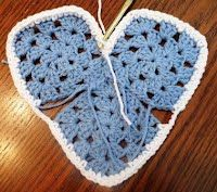 Granny Square Heart Pattern 010913 - Lots of Crochet Stitches