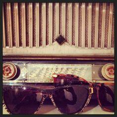We ️#vintage! #retro #radio #glasses #sunglasses #shades #sunnies #radiodays #music #opticametaxas #athens