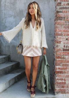 Mini skirt outfits / Stylizacje ze spódniczką mini #miniskirt #outfits #mini #spódniczka #Skirt #blogger #fashion #boho #style