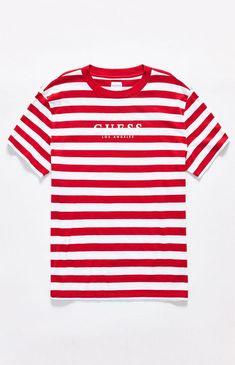 312d8aa01bb0ef Guess Stream Stripe T-Shirt