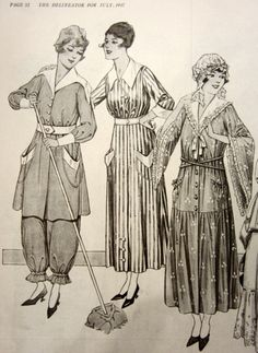 Casual womens wear 1917