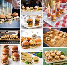 Mini Burgers - L'extravagance @ Blogspot