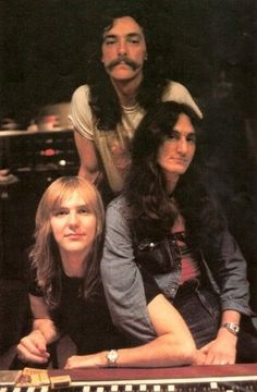 RUSH.....Alex Lifeson......Geddy Lee.....John Rutsey......from Toronto .... The band was formed in 1968