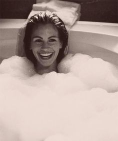 pretty woman. Love this movie. they used the rog3 first before she would get in the tub