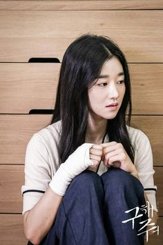 Sang Mi who succeeded in the first escape! Ocn_Save Me still cuts cr. Asian Actors, Korean Actresses, Korean Actors, Actors & Actresses, Moorim School, Asian Hotties, Save Me, Girl Crushes, Girlfriends