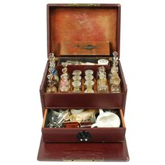 French Antique Apothecary Cabinet, Late 19th Century | From a unique collection of antique and modern scientific instruments at http://www.1stdibs.com/furniture/more-furniture-collectibles/scientific-instruments/