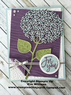 Stampin Up Thoughful Branches stamp set- Limited time only! (Stampin With…