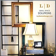 Small Budget • Smart Space Solution • Apartment Home Decorating by #LifestyleDesign http://byLifestyleDesign.com #HowTo #Ideas #DIY
