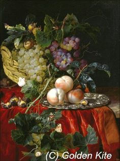 Still Life with Fruit, Nuts, Butterflies