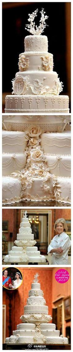 Gateau de mariage royal