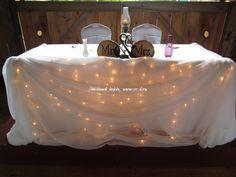 Деревенская свадьба в стиле рустик | Звездный дождь