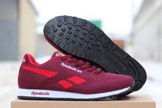 f7db4f75 Reebok Classic мужские кроссовки тканевые бордовые купить в Хмельницком в интернет  магазине, цена - 810 грн.