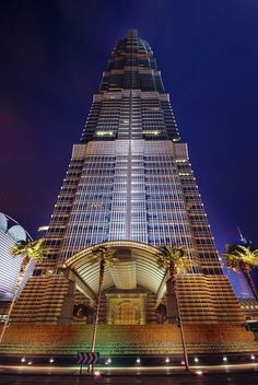Jin Mao Tower in Shanghai,  China HDR #RealEstateBuzz