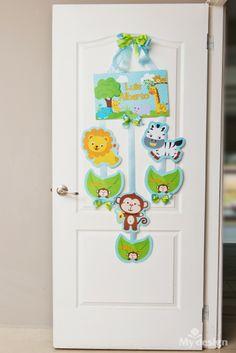 Tienda My Design Baby Door Hangers, Baby Deco, Baby Shawer, Letter A Crafts, Baby Room Decor, Baby Crafts, Baby Photos, Google, Miguel Angel