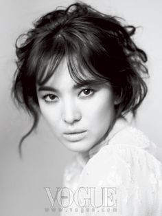 Song Hye Kyo for Vogue Korea, December 2011