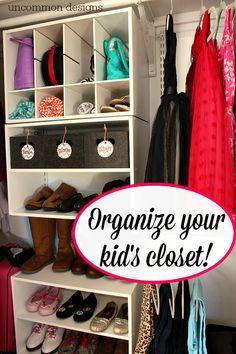Organize a messy clo