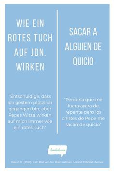 Frases hechas Alemán /español. Encuentra material para aprender español en nuestra Web! Weather, Ideas, Learning Spanish, Spanish Class, Website, Jokes, Thoughts