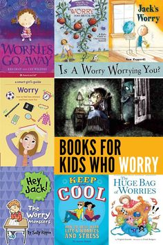 A great collection of books for helping children learn to identify worries and their causes, and for helping children learn strategies to managing these overwhelming emotions.