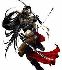 Resultado de imagen de Female Samurai.