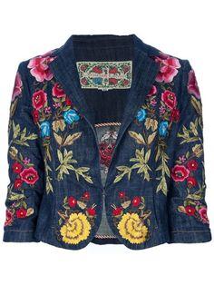 Achetez Christian Lacroix Vintage Veste brodée