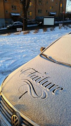 Snow calligraphy project on Behance