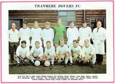 Tranmere Rovers team group in Alan Sinclair, Tranmere Rovers Fc, Back Row, 1960s, Place Card Holders, Football, Group, Soccer, Futbol