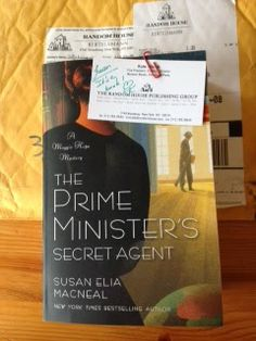 Jungle Red Writers: What We're Writing — Susan Elia MacNeal