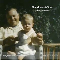 Grandparents' love never grows old.  www.yesvideo.com