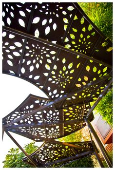 KSA's Formosa Park in West Hollywood  Shade structure