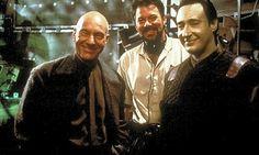 Patrick Stewart, Jonathan Frakes, and Brent Spiner