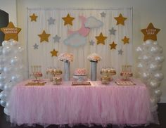 Baby decoration ideas twinkle twinkle little star baby shower party ideas photo 1 of diy baby shower decoration ideas for boy Baby Shower Table Decorations, Baby Shower Desserts, Baby Shower Centerpieces, Baby Shower Favors, Baby Shower Cakes, Shower Party, Baby Shower Parties, Baby Shower Themes, Shower Ideas