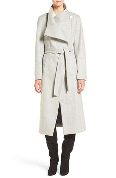 Free shipping and returns on Kenneth Cole New York Wool Blend Maxi Wrap Coat at Nordstrom.com. This classic wrap coat in a longer length is detailed with an elegant collar that you can button up on colder days or wear open for a face-flattering portrait style.