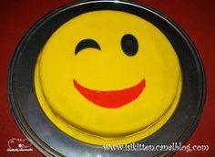 Gâteau SMILEY - Smiley cake