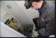 Some home projects require a plumber more than do-it-yourself work. Learn tips for hiring a plumber for home remodel projects. Commercial Insurance, Home Repair, Plumbing, Home Remodeling, Home Appliances, Projects, Farmer, Den, Construction
