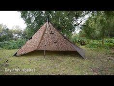 DD Tarp 3x3 - 11 shelter set-ups for bushcraft & survival - YouTube