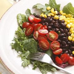 Southwestern Salad with Black Beans Recipe